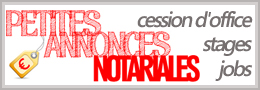 petites annonces notariales